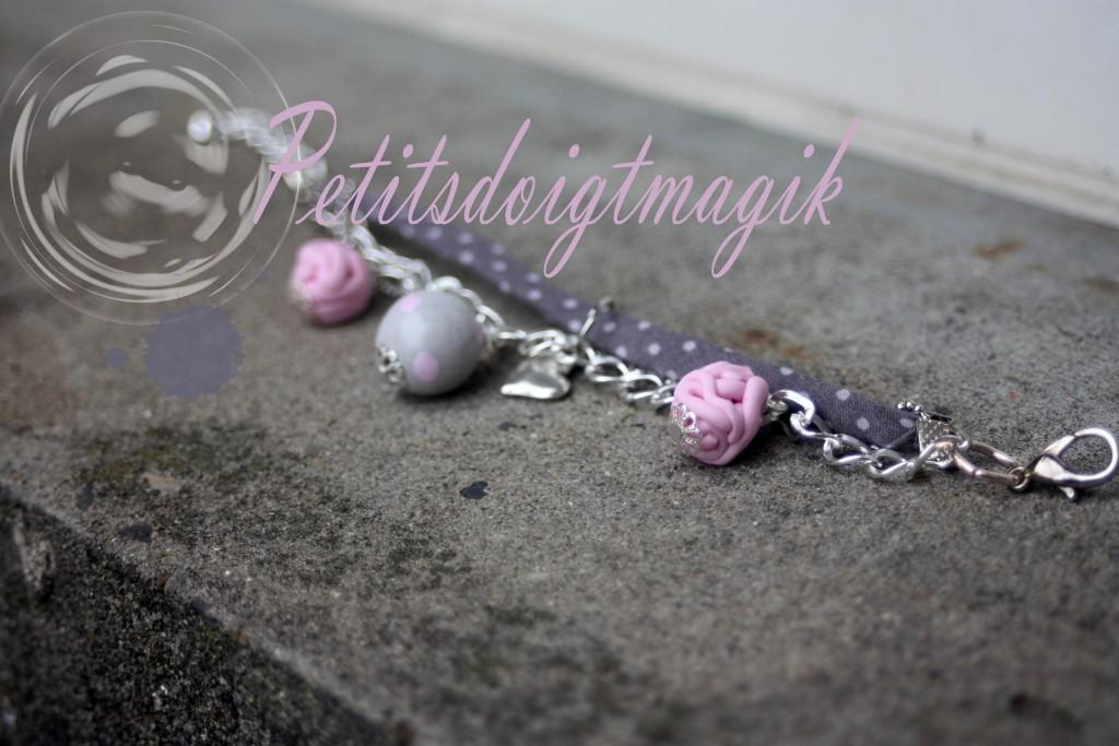 bracelet douces pensées