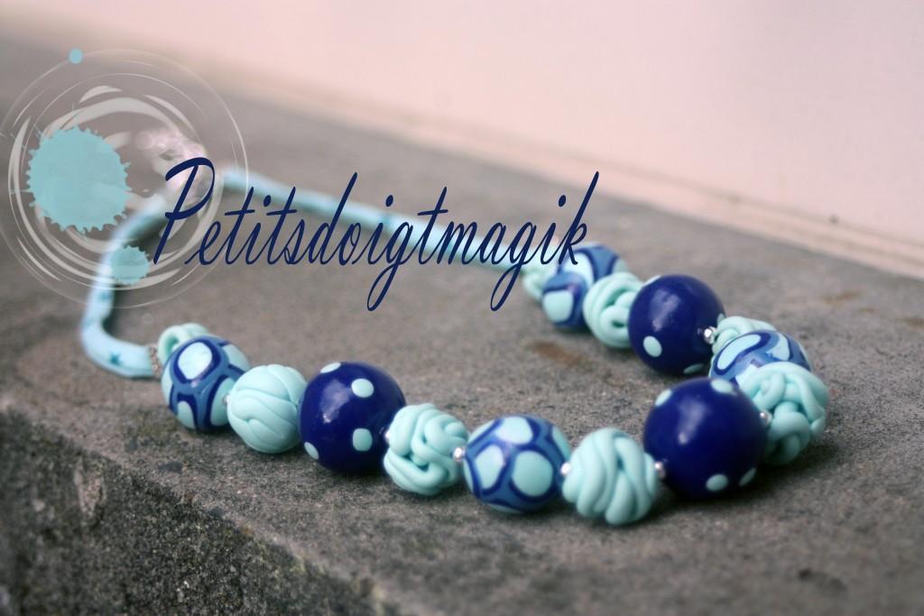 douces pensées bleu